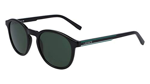 LACOSTE EYEWEAR Unisex-Adult L916S Sunglasses, Black, 5021