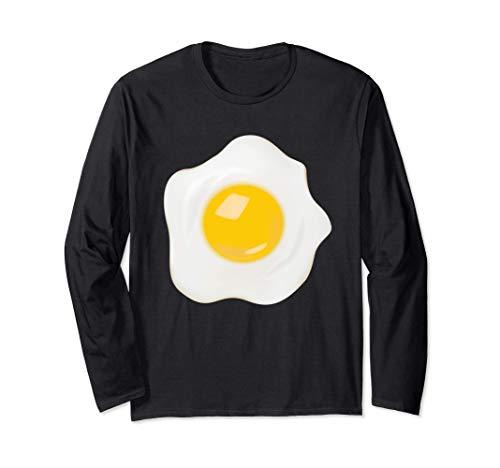 Divertido Disfraz Huevo Frito Disfraces Hombre Mujer Nios Manga Larga