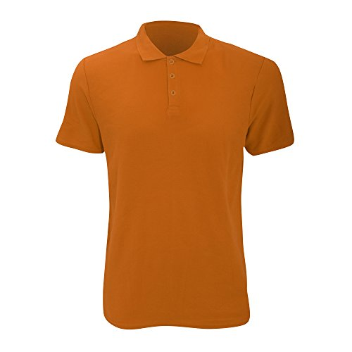 Anvil Herren Fashion Polo-Shirt, Kurzarm (2XL) (Orange)