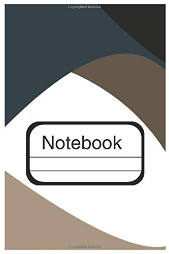 Notebook: Dot Graph Pastel Abstract Journal Design Notebook 6x9 inches 130 pages