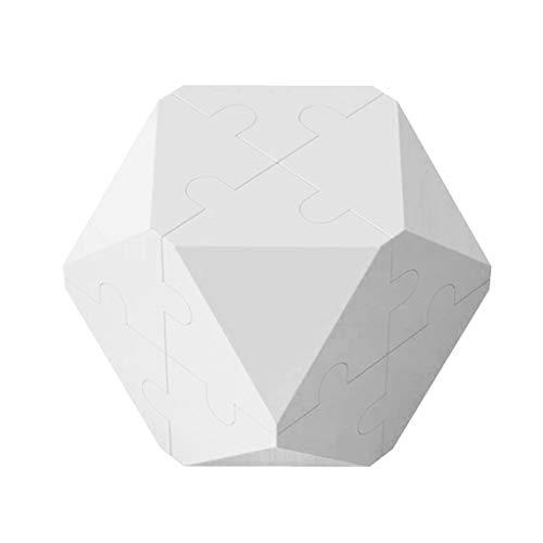 Dreidimensionale unregelmäßige Form Magic Cube Kinder Puzzle Baustein Spielzeug