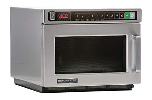 Menumaster Mikrowelle DEC21E2 programmierbar, silber