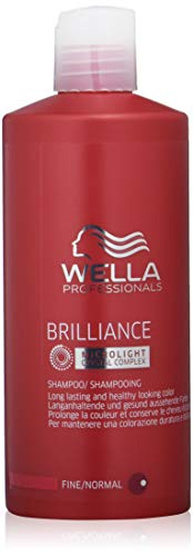 Wella Professionals Brilliance Shampoo, 1er Pack (1 x 500 ml)