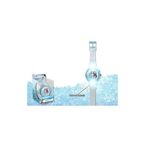 Disney Frozen - Reloj Digital con Correa Transparente (Kids WD17490)