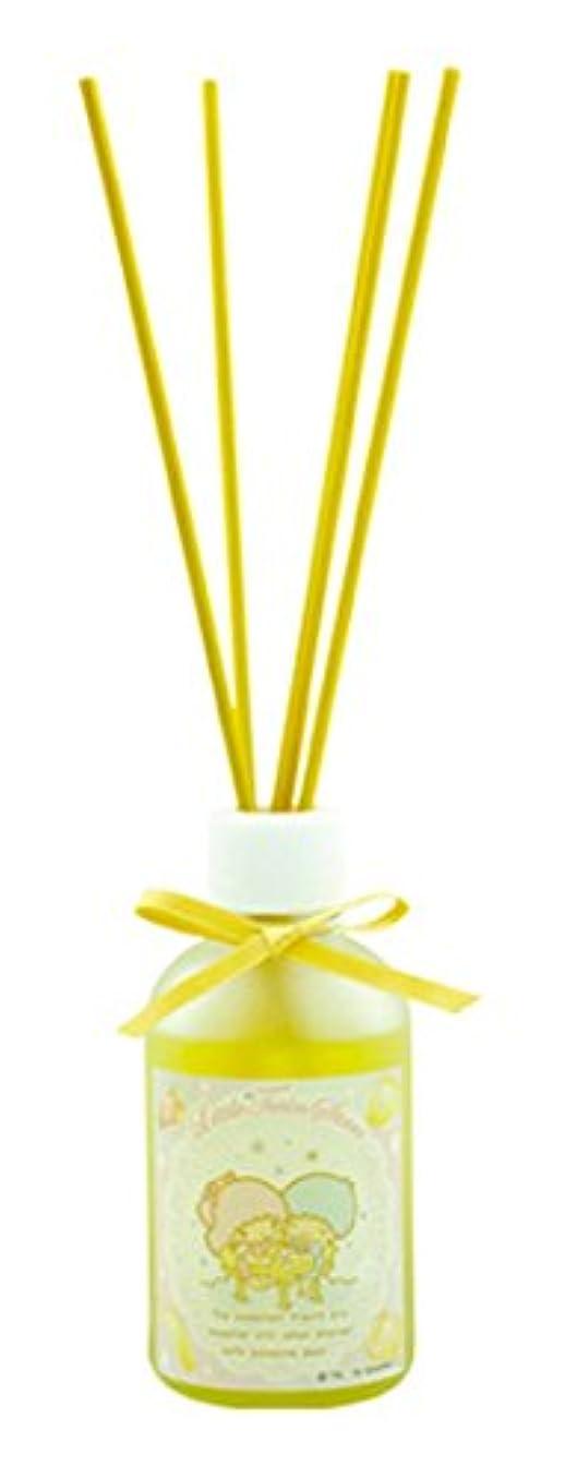 いとこ宿命おなじみのサンリオ リードディフューザー リトルツインスターズ キキララ イエローフルーツ Yellow Fruit Kiki Lala Little Twin Stars Reed Diffuser Sanrio