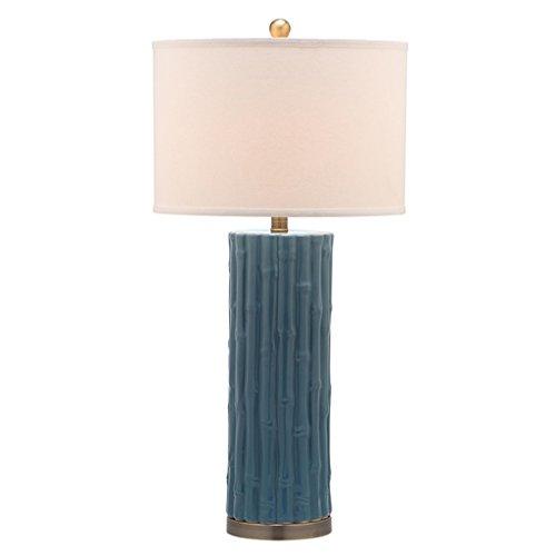 William 337 Nouvelle Lampe de Table en Céramique Chinoise - Moderne Haut de gamme Maison Salon Salon, Lampe de Chambre à Coucher (0737) (Couleur : B)