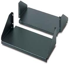 APC AR8422 Rack shelf - black (pack of 2 ) - for NetShelter 2 Post Open Frame Rack, 4 Post Open Frame Rack