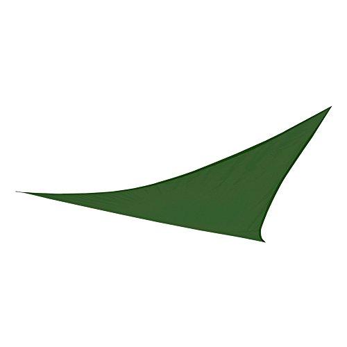 Aktive Garden 53907 - Toldo Vela Triangular Verde Oscuro 360 x 360 x 360 cm