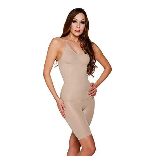Skin Wrap Shapewear Damen - Unterhemd Bauchweg Hemd Body Shaper Damen Shaping Unterwäsche Damen Top - leicht & formend in Haut Größe M