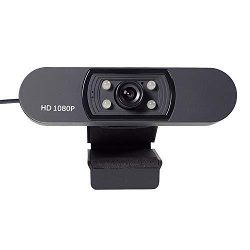 YWZQ HD Webcam, Widescreen HD Video Calling HD Luce Correzione attenuazione di Rumore Mic, per Skype FaceTime Webex PC Laptop Tablet