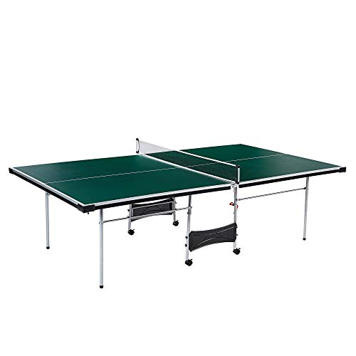 Best Price Lancaster 4 Piece Official Tournament Size Indoor Folding Table Tennis Ping Pong Game Tab...