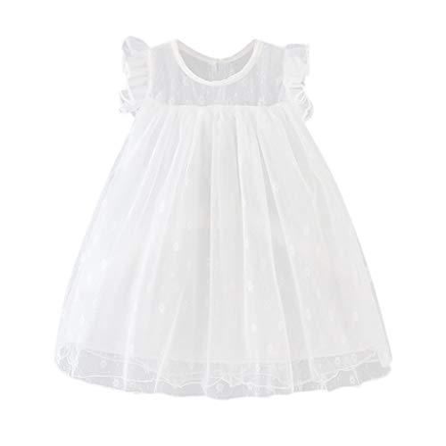 Cover Baby Mädchen Kleider Blumen Muster Tüll Kleid Sommerkleid