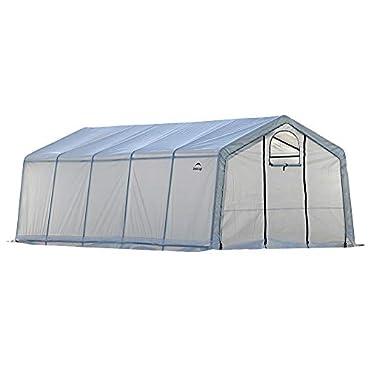 ShelterLogic 70684 GrowIT Greenhouse-in-a-Box Pro, 12 x 20 x 8 ft.