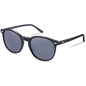 DUCO Classic Round Polarized UV400 Protection Vintage Shades Sunglasses for Women DC1230