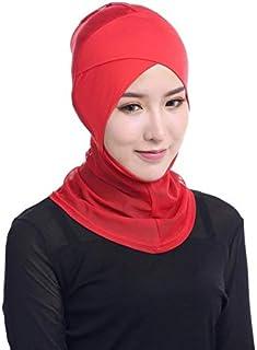 Islamic Clothing - Newest Chic Lady Modal Hijab Summer Casual Adult Solid Scarf Hijabs Islamic Cap Bone Bonnet Ninja Neck ...
