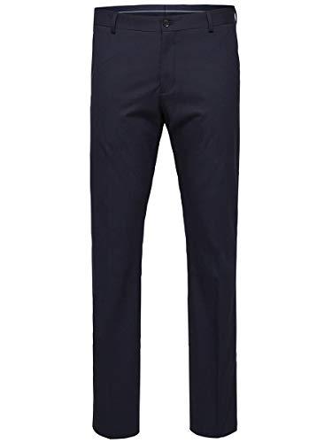 SELECTED HOMME Herren SHDNEWONE-MYLOLOGAN1 Trouser NOOS Anzughose, Blau (Navy Blazer), 50