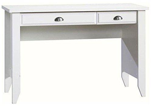 Sauder Shoal Creek Computer Desk, Soft White finish
