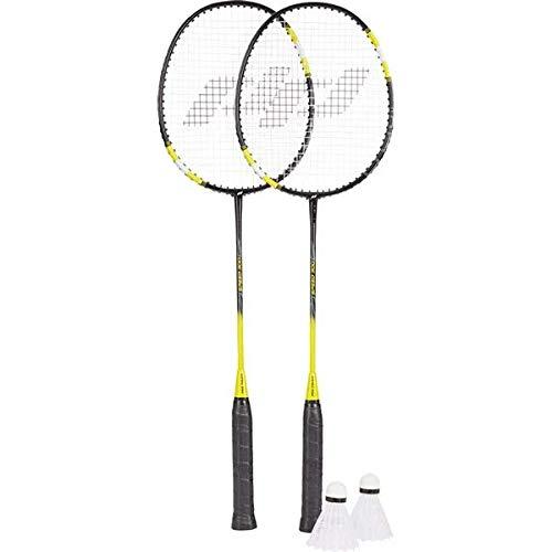 Pro Touch Speed 300 Badminton-Set Black/Yellow/White 4