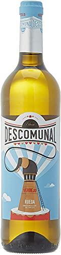 Descomunal Verdejo Vino Blanco D.O. Rueda- botella de 750 ml - BODEGA CUATRO RAYA, 1 unidad