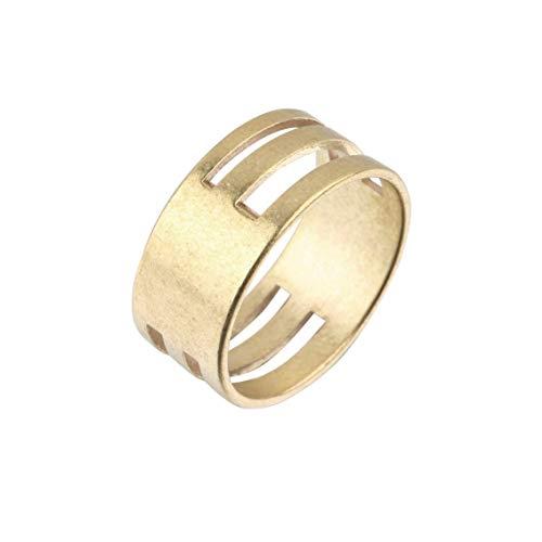 Messing Kleur Mannen Vrouwen Jump Ring Open & Sluiten Gereedschap Vinger Ringen DIY Oorbellen Handwerk Gereedschap Ring Sieraden Vindingen - Golden
