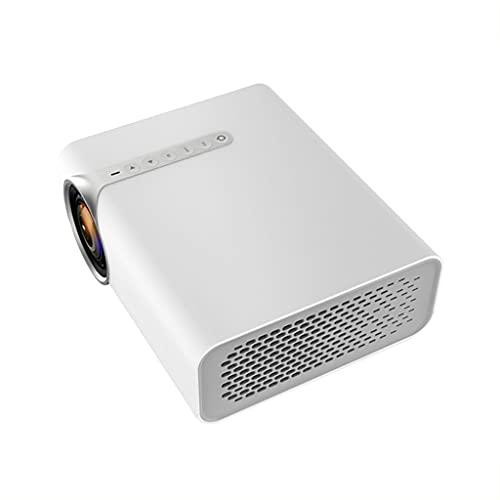 SGZYJ Proyector LED con USB 1080P HD para Sistema de Cine en casa YG530 Reproductor de Video de películas portátil (Size : YG530 White)