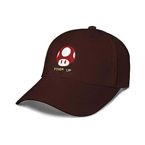 Sombrero de Super Mario Juego de anime Mario hongo rojo que rodea sombrero de lengua de pato hombres y mujeres protector solar linda gorra de béisbol marea