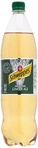 Schweppes Ginger Ale, 6er Pack, EINWEG (6 x 1.25 l)