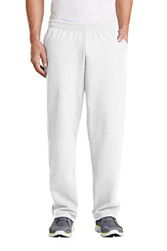 Port & Company Men's Classic Sweatpant 3XL White