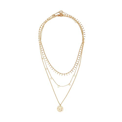 Parfois - Conjunto De Collares Silver Basics - Mujeres