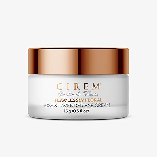 Cirem Jardin de Fleurs Flawlessly Floral Corrective Eye Cream with Tripeptide 5, Rose and Lavender extracts