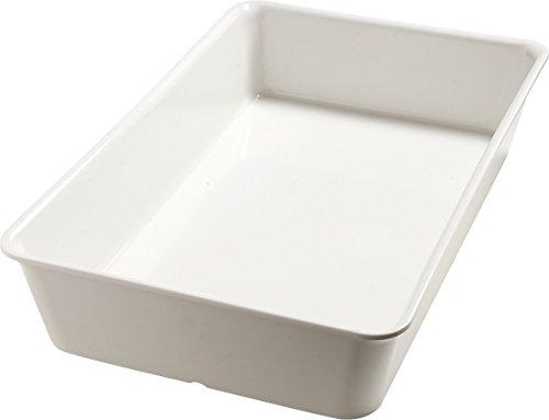 Carlisle 5552437 Balsam Melamine Full-Size Food Pan, Bavarian Cream