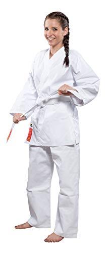 Hayashi Heian Official Wkf Karateanzug Unisex Erwachsene, Weiß, 160 cm