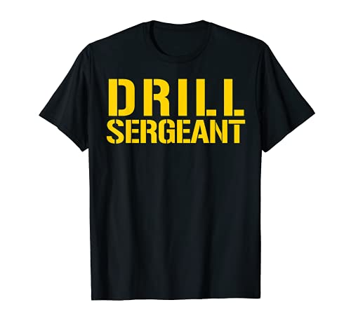 Drill Sergeant Shirt Military Boot Camp Tee