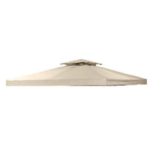 Garden Winds Universal Two-Tiered Replacement Gazebo Canopy, RipLock 350(Please Read Product Description Before Purchasing)