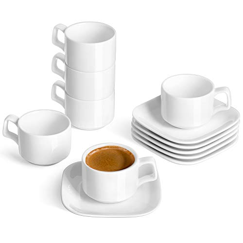 Top stackable espresso cups set for 2021