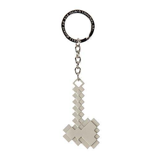 Minecraft Sleutelhanger Metalen Bijl Zink-Legering j7700
