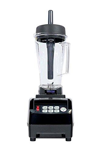 JTC OmniBlend V - Special Edition mit 5 Jahre Garantie - 2,0 Liter BPA-frei (schwarz)