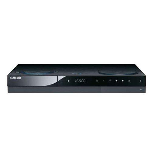Samsung BD-C8200 HD-Rekorder mit Blu-ray-Player (250 GB, Kabel-HDTV-Tuner, Upscaler 1080p, CI+) platinschwarz