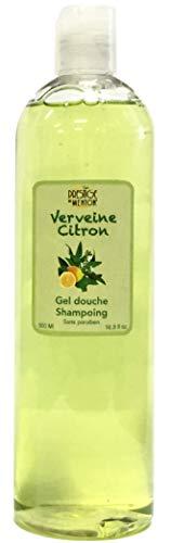 Gel douche et Shampoing - Verveine Citron - Prestige de Menton, Artisan Parfumeur (500ml)