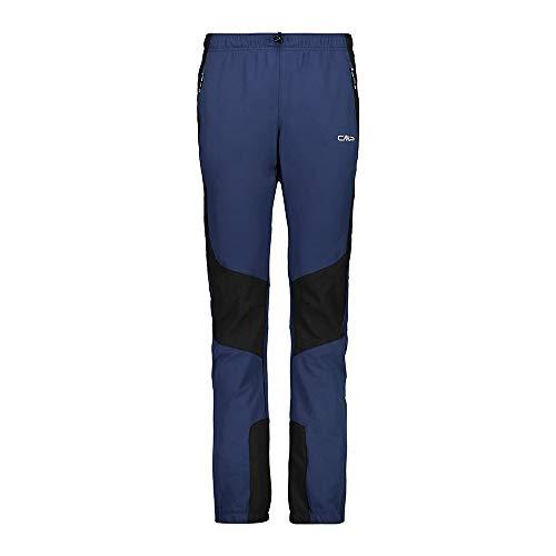 CMP Damen Trekkinghose mit Melange Detail 30T6226 Hose, Blue, D38