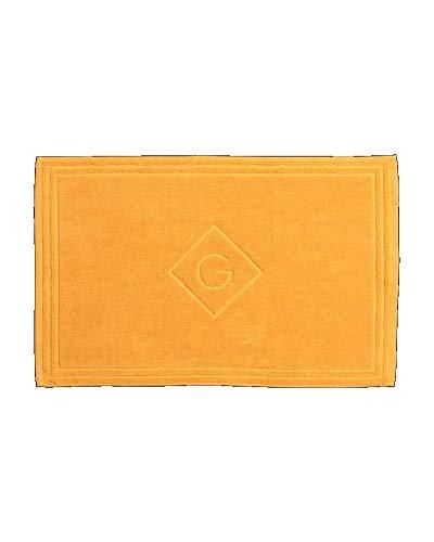 GANT Organic G Duschvorleger Farbe Mandarin Orange Größe 50x80cm Badteppich Vorleger