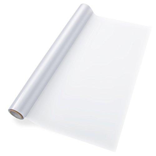 casa pura® statisch haftende Milchglasfolie | Blickdicht & individuell zuschneidbar | 43x300cm | Fensterfolie Milchglas