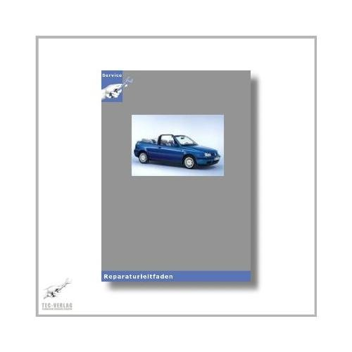 VW Golf Cabrio, Typ 1E (93-02) 4 und 5 Gang Schaltgetriebe - Reparaturleitfaden [Seitenzahl: 151]