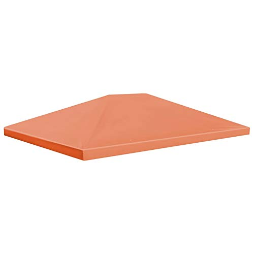 Ebtools - Toldo de repuesto para cenador de jardín (4 x 3 m, 310 g/m²), color naranja