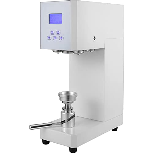 VEVOR Can Seamer Semi Automatic, Tin Can Sealer Machine 56 mm/2.2 inch Diameter, Can Sealer 60-170 mm/2.4-6.7 inch Applicable Can Height, Electric Can Seamer Machine 370W Beer Can Seamer for Cans
