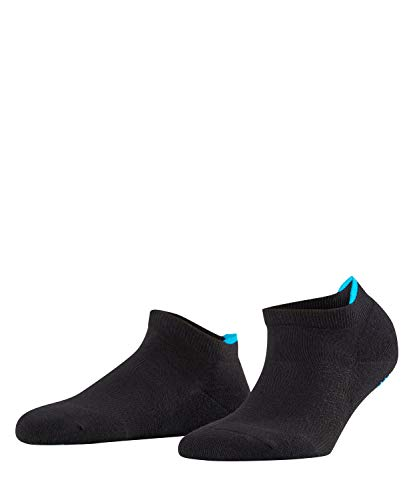FALKE Damen Sneakersocken Relax Pads - Baumwollmischung, 1 Paar, Schwarz (Black 3000), Größe: 39-42