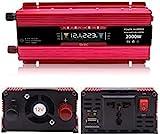 FYLJ 2000W Sinus-Inverter, 12V 24V DC bis 110 V / 220V AC-Fahrzeugleistung-Wechselrichter, mit...