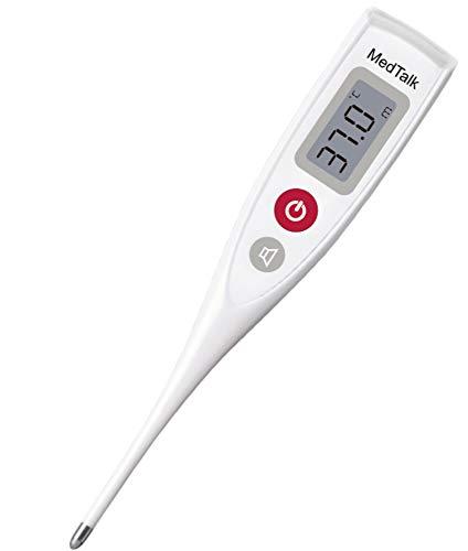 sprechendes digitales Fieberthermometer Thermometer 1320s 6 Sprachen einstellbar