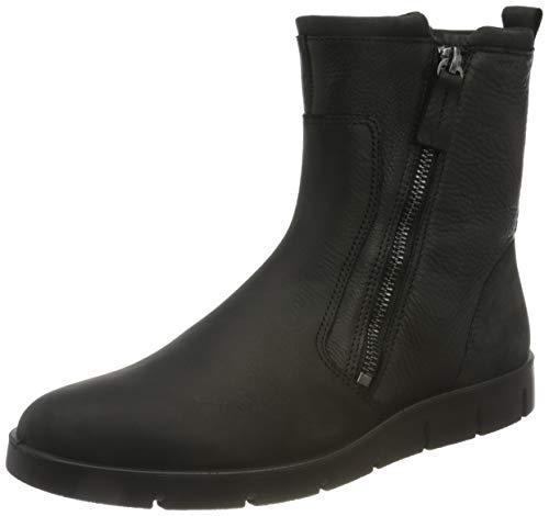 ECCO Damen Bella Ankle Boot, Schwarz (BLACK/BLACK), 43 EU