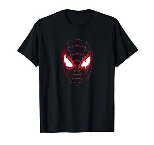Marvel Spider-Man: Miles Morales Game Spidey Mask Maglietta